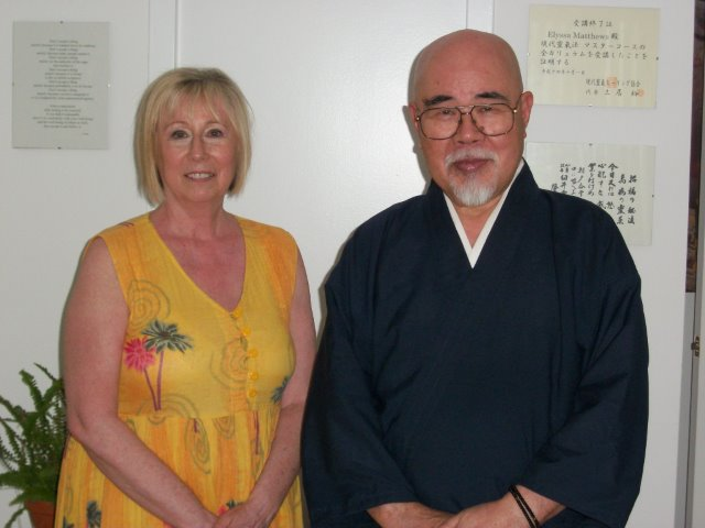 Niki with Komyo Reiki-Do Master